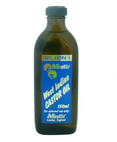 Afrotic West Indian Castor oil - Afrotic west Indian Castor olja