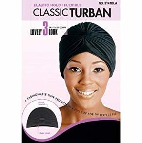 Classic Turban - Classic Turban svart