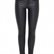 ROCK COATED BIKER PANTS