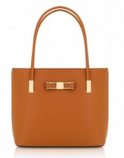 Stor handväska - Brun