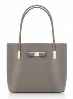 Stor handväska - Grå