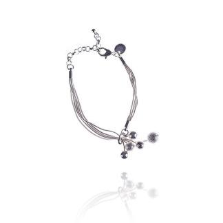 Silver armband -