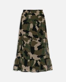 Kamouflage kjol - XS