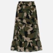Kamouflage kjol