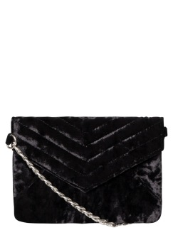 CLARISSA CROSS BODY VELVET -