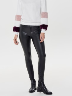 MOLLY FAUX LEATHER PANTS - 34