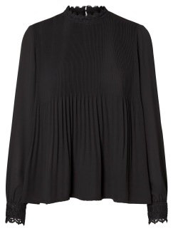 SELMA TOP - Svart XL