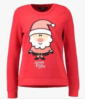 Cute xmas sweater - Röd S
