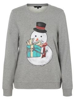Cute xmas sweater - Grå S