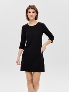 Lilli 3/4 dress - Svart XS