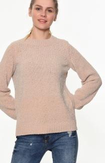 Glittrig tröja - Rosa S