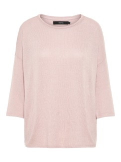 Brianna oversize blouse - Misty rose S