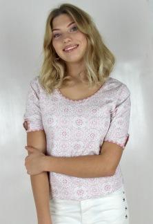 ALINA TOP ROSE/MAGNOLIA/CREME - XS