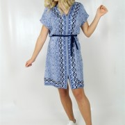EMILY DRESS LAVENDER BLUE