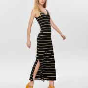 JULY S/L LONG V-NECK DRESS