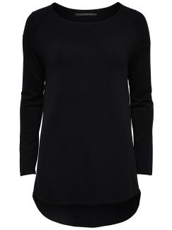 Mila Long Pullover - Svart XS