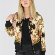 VANNA JACKET BLACK/GOLD/SMOKY ROSE