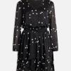 Nicoline dress v-ringad - XL