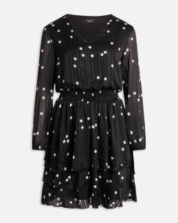 Nicoline dress v-ringad - XS