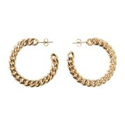 Jennifer hoop earrings
