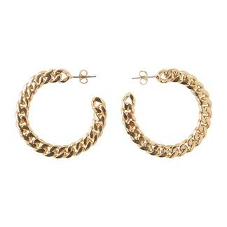 Jennifer hoop earrings - Guld