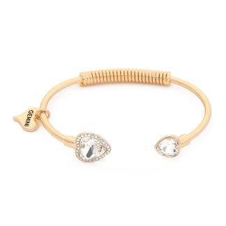 Armband med hjärtan - Guld