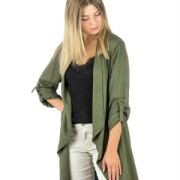 UTILITY JACKET KHAKI GREEN