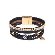 Svart armband