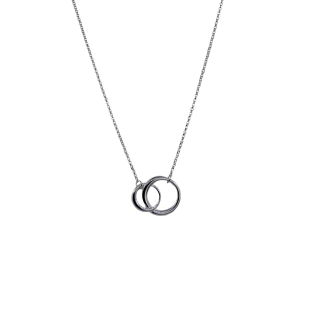 Halsband 2 ringar -
