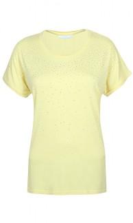 T-shirt med stenar - Gul XXL