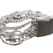 Armband med silverlänkar