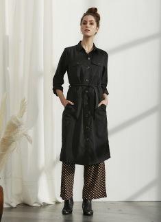 Sasha Skjortklänning - Svart S