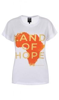 Land of Hope T-shirt - Vit XS