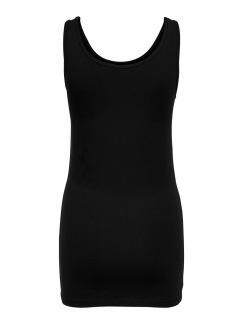 Långt linne - Svart XS