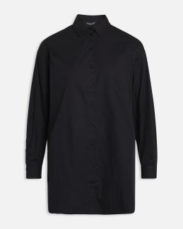 Oversize skjorta - Svart XS