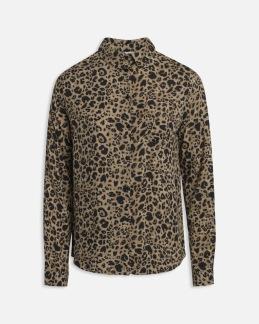 Skjorta leopard - XS