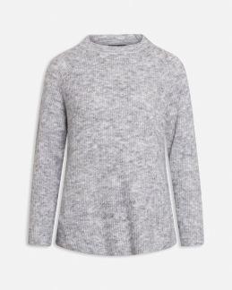 Stickad tröja Lui - Grå S