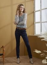 Jeans med hög midja Sanne