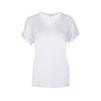 T-shirt med v-ringning - Vit XXL