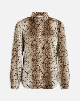 Mönstrad skjorta - XS