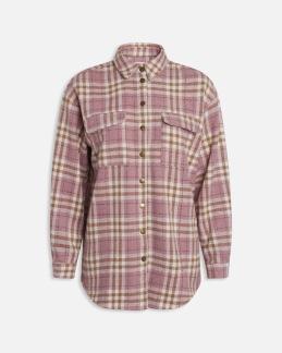 Flanellskjorta - Rosa XS