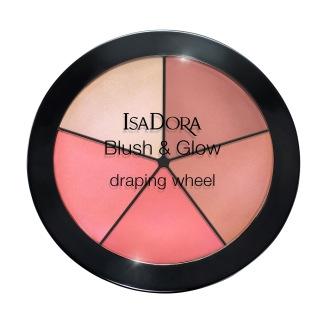 Blush & Glow Draping Wheel - 55 Peachy Rose Pop