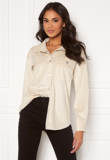 Oversized Shirt Offwhite - XS