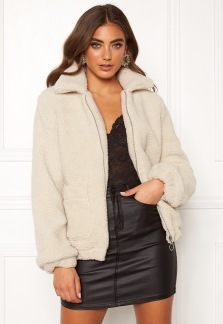 Teddy Jacket Light Beige - 34
