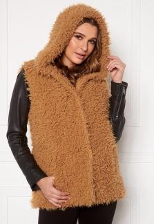 Fur Vest Camel - 40/42