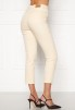 High Waist Stretch Jeans Cream