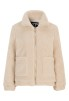 Teddy Jacket Light Beige