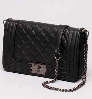 Svart handväska -