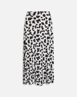 Mönstrad kjol - XS
