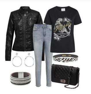 Rockig Outfit - OBS! Beställs separat på div. vara.  EJ här